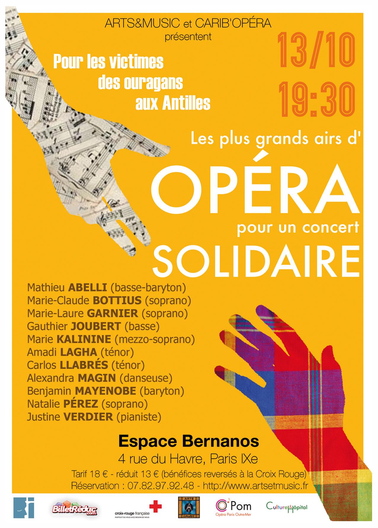 Opéra Solidarité Antilles
