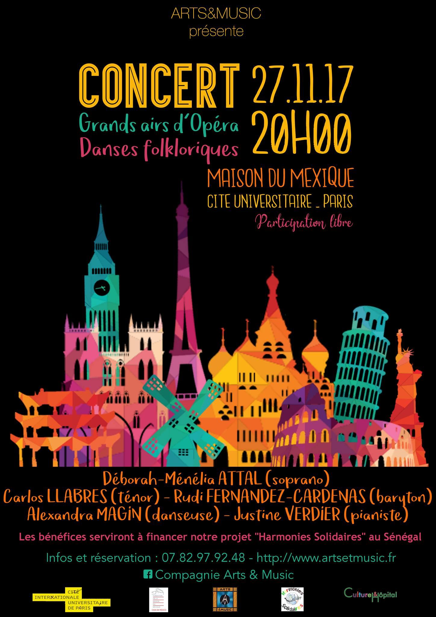 concert opera danses folkloriques