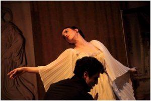 Gradiva Danseuse et le peintre espagnol