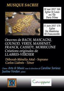 Concert de musique sacrée @ Église Saint-Louis-en-l'Île | Paris | France