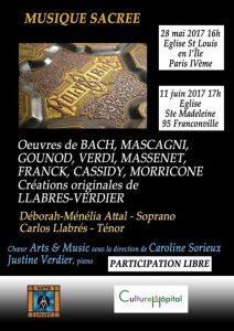 Concert de Musique Sacrée @ Franconville - Eglise Sainte-Madeleine | Franconville | France
