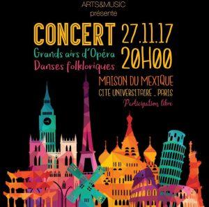 Grands airs d'Opéra et Danses Folkloriques @ Maison du Mexique | Paris | France