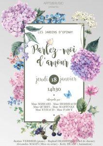 Parlez-moi d'amour @ Les Jardins d'Epinay