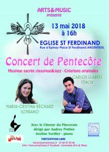 Concert de Pentecôte à Argenteuil @ Eglise St Ferdinand