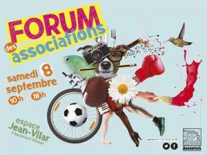 Forum des Associations 2018 @ Parking Jean Vilar
