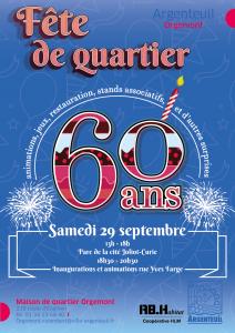 Fête de Quartier d'Orgemont @ Cité Joliot Curie