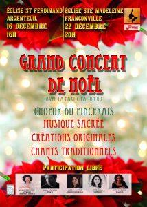 Concert de Noël à Argenteuil @ Eglise St Ferdinand