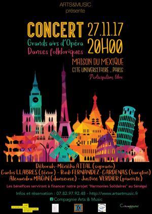 Grands airs d'Opéra et Danses Folkloriques